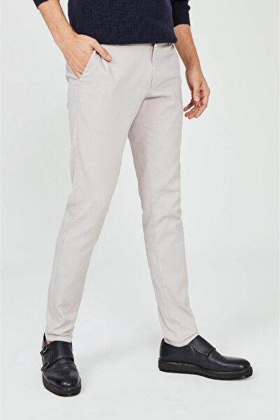 Erkek Taş Yandan Cepli Düz Slim Fit Pantolon A02y3074