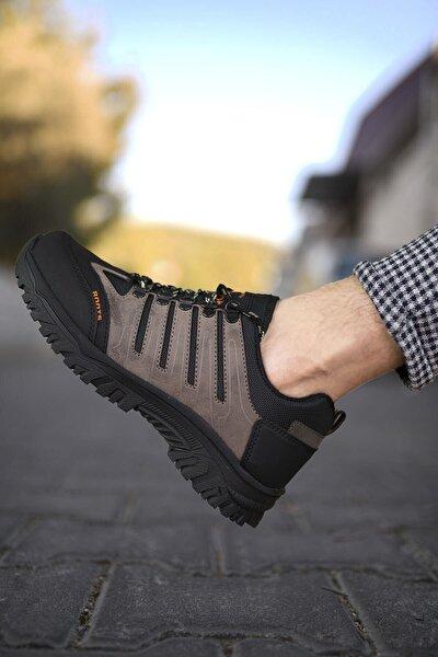 Kahverengi Siyah Erkek Trekking Ayakkabı 0012115