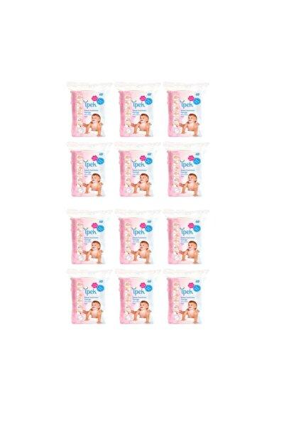 Bebek Temizleme Pamuğu 60 Lı 12 Paket 720 Kullanım