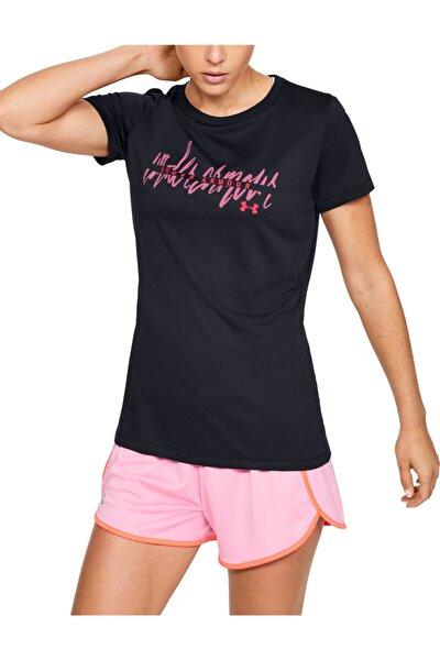 Kadın Spor T-Shirt - Tech Script Graphic Ssc - 1351964-002