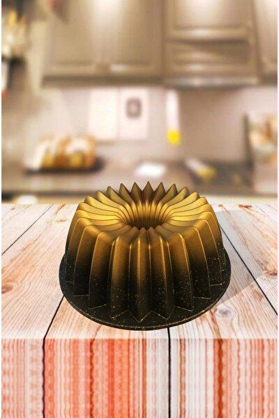 Döküm Granit Kek Kalıbı 26 Cm Gold