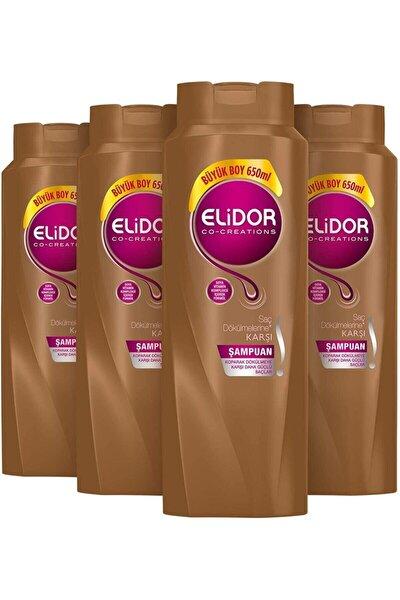 Saç Dökülmesine Karşı Şampuan 650 Ml X 4 Lü Set