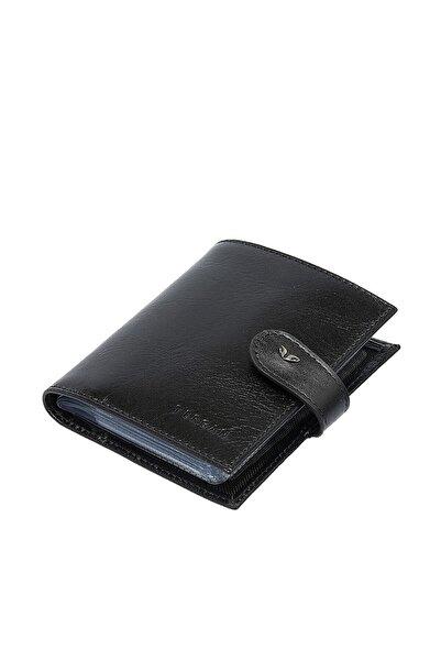 Hakiki Deri Siyah Unisex Kredi Kartlık S1kk00001323