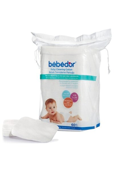Bebek Temizleme Pamuğu 60 Lı 6 Paket 360 Kullanım