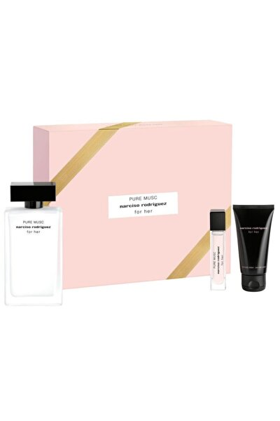 For Her Pure Musc Edp 100 ml + Pure Musc Edp 10 ml + Body Lotion 50 ml