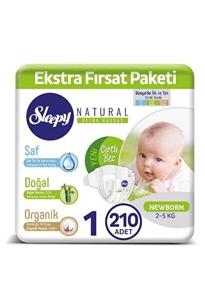 Natural Bebek Bezi 1 Numara Yenidoğan 210 Adet