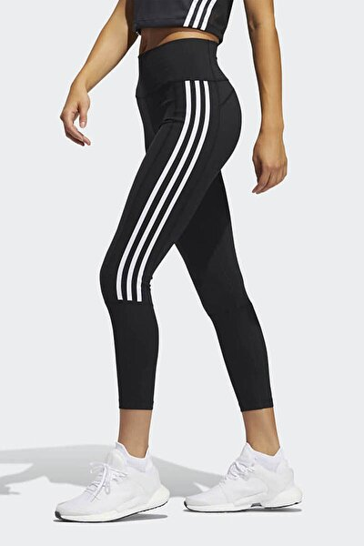 Kadın Siyah Beyaz Şeritli Spor Tayt 2 0 3s R 78t Gl0578