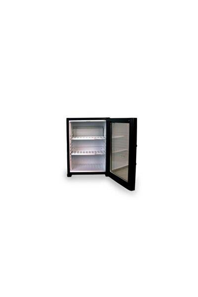 Siyah Camlı Minibar Mini Buzdolabı Otel Tipi Sm-40g
