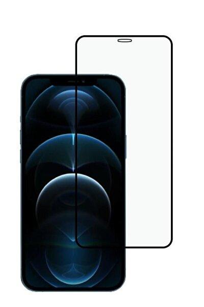 Iphone 12 Pro 5d Temperli Tam Ekran Koruyucu Kırılmaz Cam