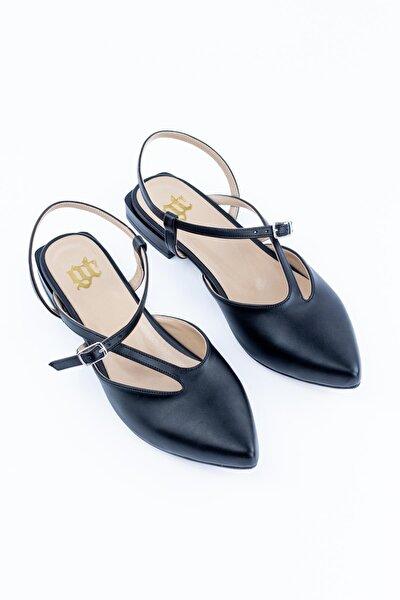 Toka Detaylı Kadın Babet Ayakkabı