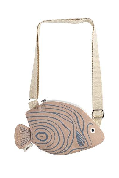 Kadın Pembe Pink Emperor AngelfishBel Çantası