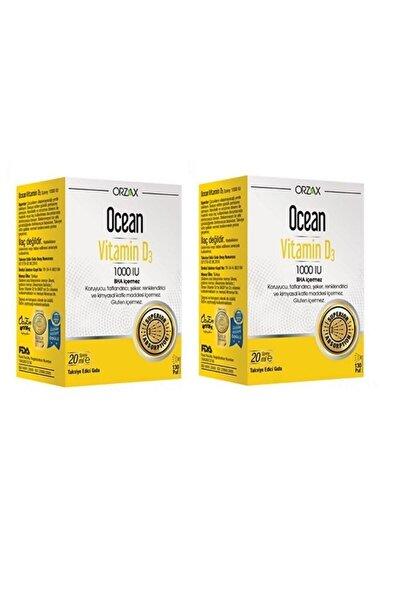 D3 Vitamini - Ocean Vitamin D3 1000 Iu Sprey 20 ml X2 Adet