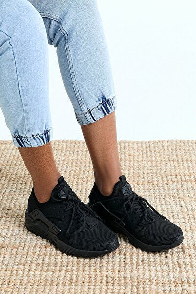 Unisex Siyah Sneaker HRC-Q-0