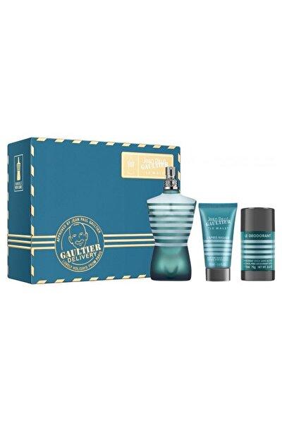 Le Male Edt 125 ml Erkek Parfüm + After Shave Lotion 50 ml + Deo Stick 8435415036337