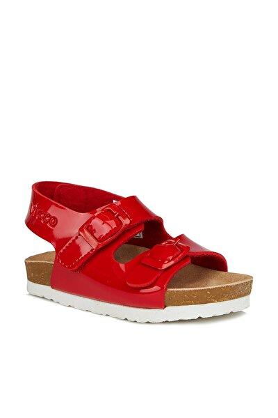Last Kız Çocuk Kırmızı Sandalet