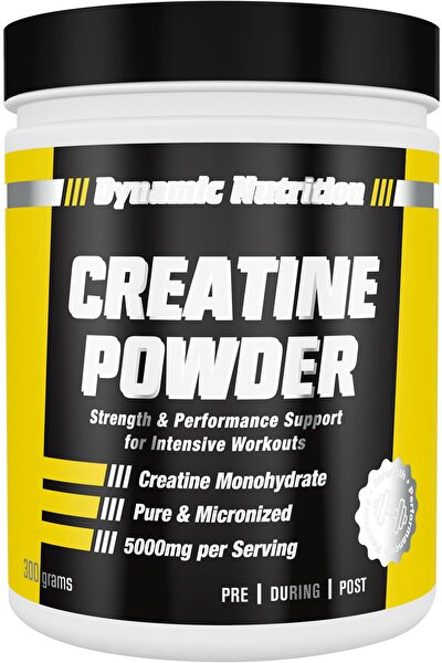 Creatine Powder 300 Gr - 60 Porsiyon