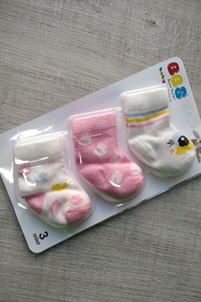 3lü Bebek Çorabı