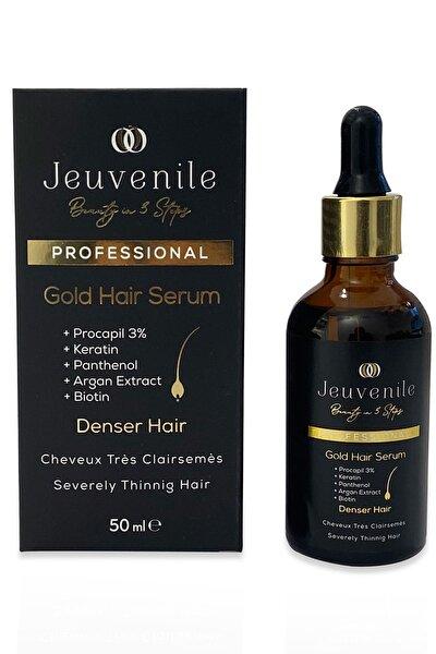 Dökülme Karşıtı Besleyici & Yoğunlaştırıcı Altın Saç Serumu 50 ml Gold Hair Serum