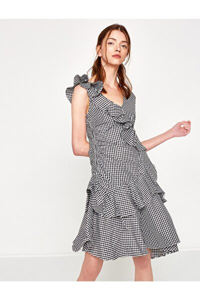 Firfir Detayli Elbise