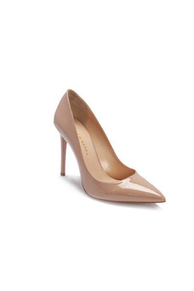 Pudra Kadın Stiletto Ayakkabı 24046