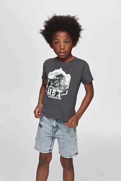 Erkek Çocuk Jean Şort