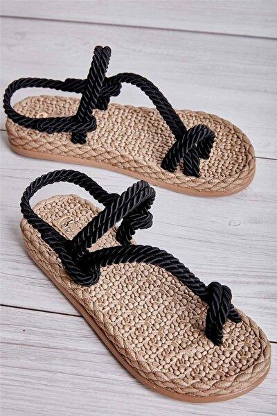 Sıyah Kadın Sandalet L0671060516