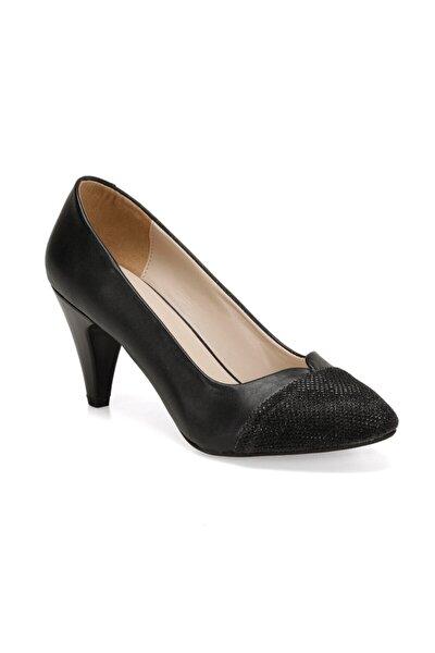 309021CZ Siyah Kadın Topuklu Ayakkabı 100567657