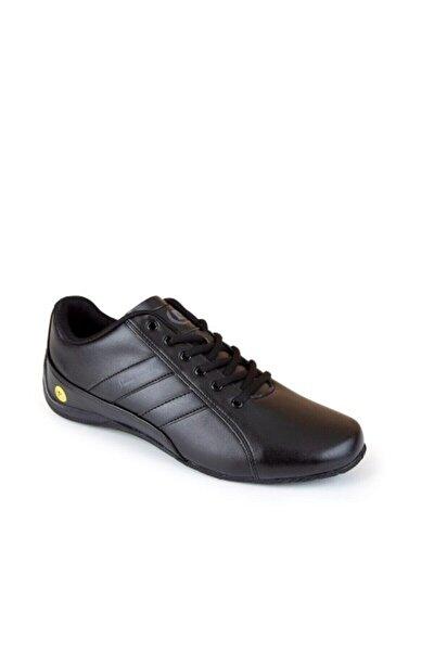 30490 Siyah Erkek Spor Ayakkabı
