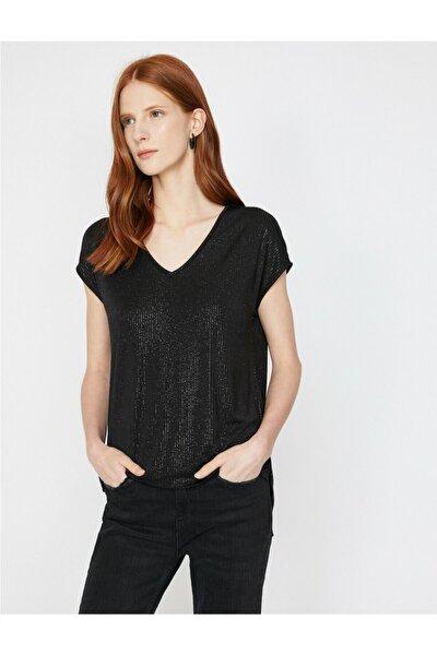 Sim Detayli T-shirt