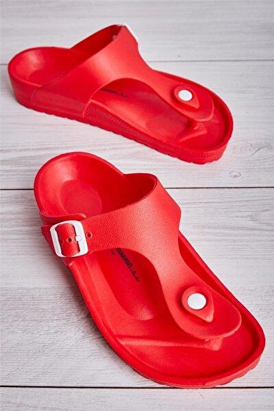 Kırmızı Kadın Terlik L0740020099