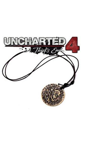Uncharted 4 A Thief's End Nathan Drake Korsan Sikke Uncharted Kolye