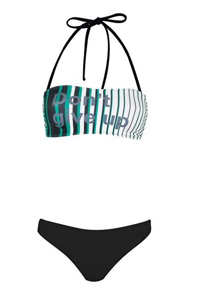Straplez Bikini Takımı