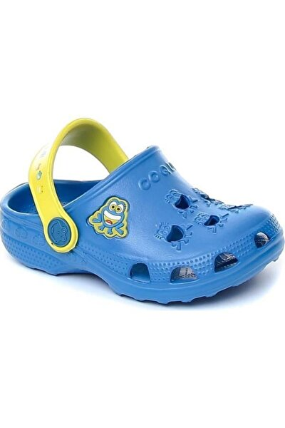8701 Little Frog Çocuk Terlik - Sandalet Mavi-25/26