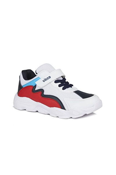 Neon Erkek Çocuk Beyaz/lacivert Spor Ayakkabı