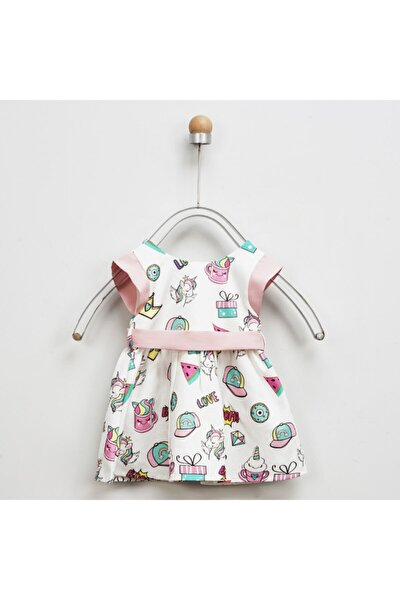 Kız Bebek Beyaz Elbise 2011gb26035