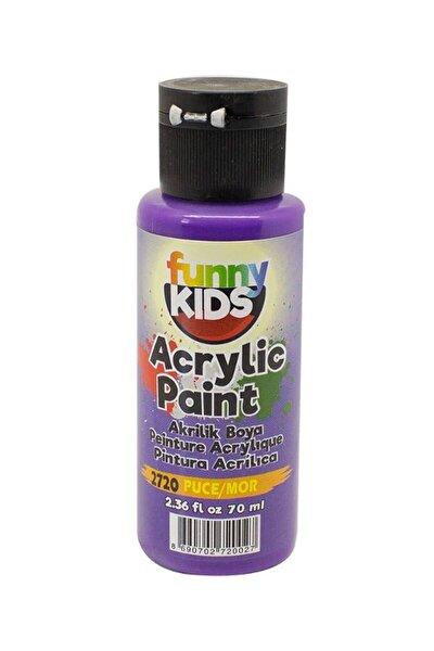 Funny Kids Akrilik Boya 70ml - 2720 Mor