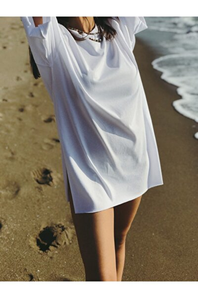 Beyaz Oversize T-shirt
