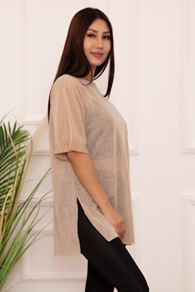 Bayan Basic Salaş Esp12 T-shirt
