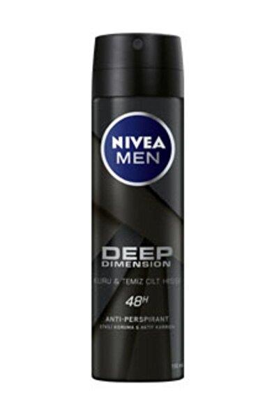 Men Deep Dimension Kuru Cilt Sprey Deodorant Erkek 150 ml
