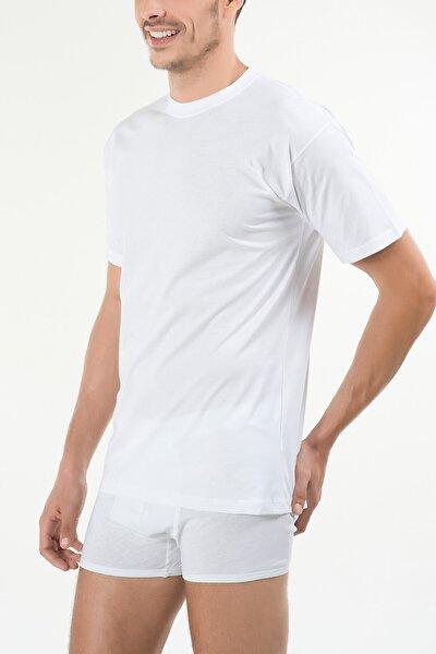 Erkek Beyaz Eduardo 2'li T-shirt 44ts10031beya