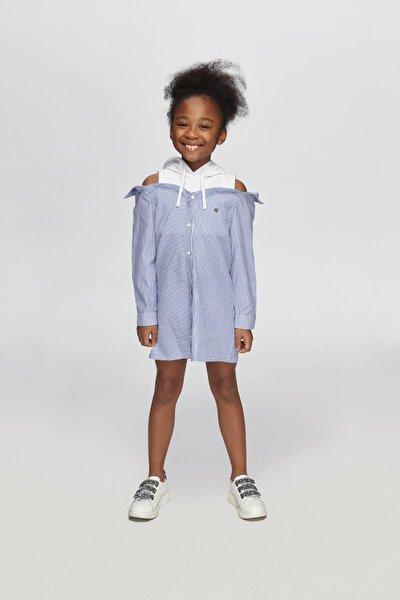 Kız Çocuk Çizgili Elbise