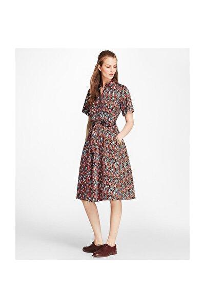 Kadın Çok Renkli Elbise