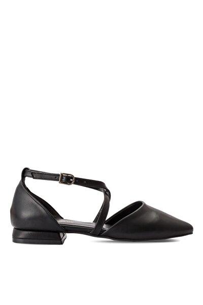 Babet & Düz Ayakkabı Siyah - Getout