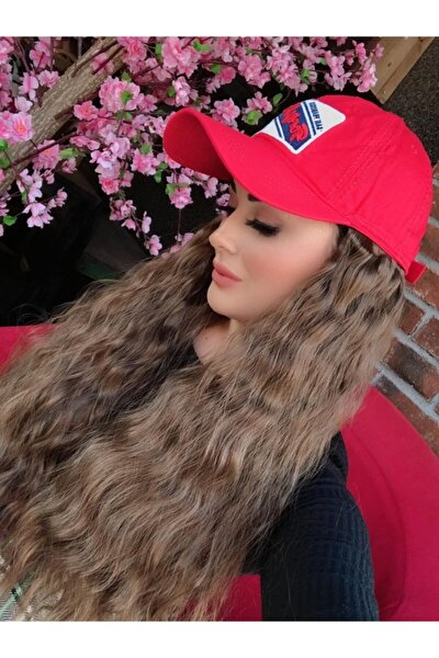 Karina Örgü Dalgalı Şapkalı Saç 123