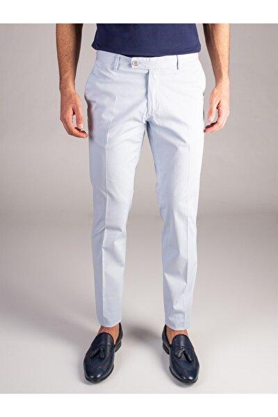 A.mavi Düz Erkek Pantolon - Slım Fıt