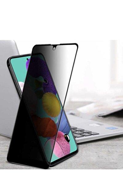 Teknopark Samsung M51 Privacy Kavisli Hayalet Gizlilik Filitreli Full Ekran Koruyucu