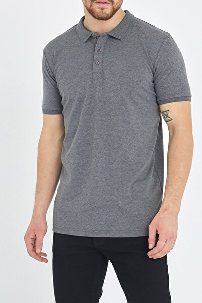 Gri Polo Yaka T-shirt 1kxe1-44488-03