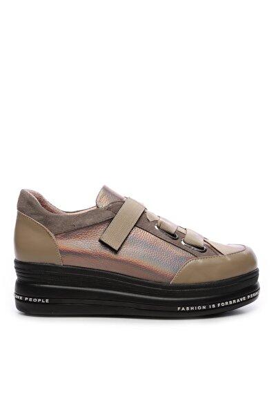 Kadın Derı Ayakkabı Ayakkabı 744 20429 Bn Ayk Sk19-20