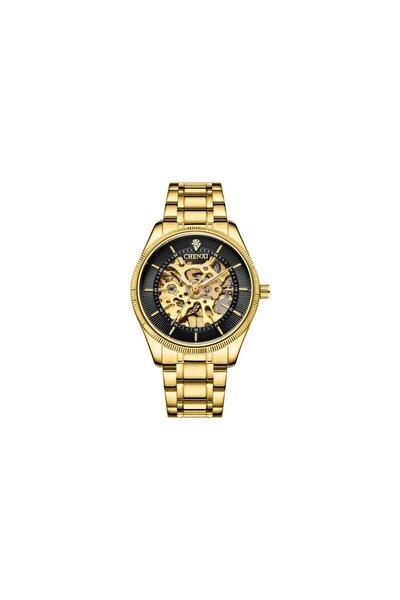 Erkek Otomatik Altın Kol Saati