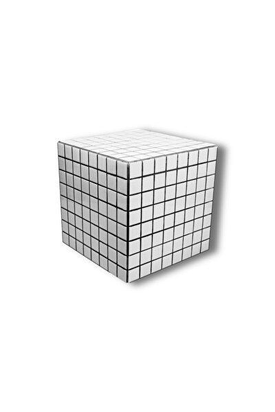 Seramik Beyaz & Siyah 4x4 Sehpa